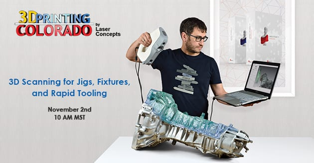3D Scanning for Jigs, Fixtures and Rapid Tooling
