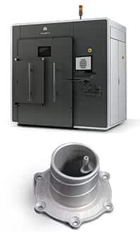3D Printing Services - DMP - Metal Parts