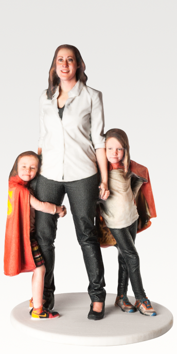 3D Printed Portraits – 3D Selfies & Figurines in Full Color